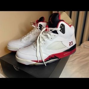 Air jordan 5 fire red 2013 sz 8.5